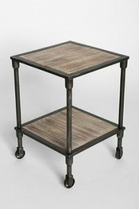 "Dawson Pedestal Side Table | Pottery Barn 40"" D X 30"" H ..."