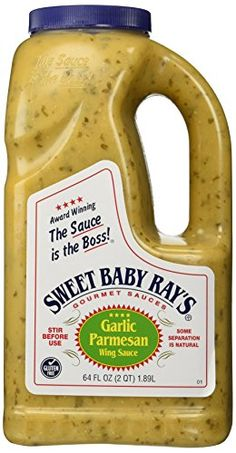 Best Baby Rays Garlic Parmesan Wing Sauce Recipe on Pinterest