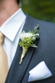Boutonniere made wit