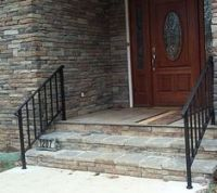 Stair Hand Rails | Wrought iron