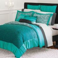 1000+ images about Turquoise and cheetah bedroom on ...