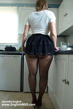 model celebrity pantyhose