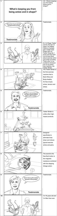 Storyboards for films, commercials and music videos by Cuong Huynh - commercial storyboards