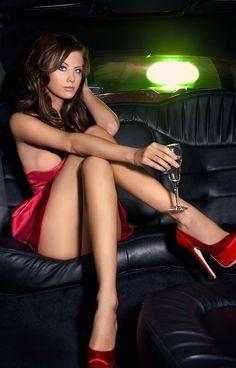 girls wearing stiletto high heels