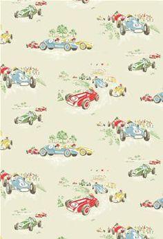 Cath Kidston Vintage Racing Car Wallpaper Vintage Wallpaper On Pinterest Vintage Wallpapers