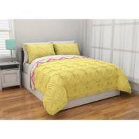 Latitude Ruffled Bedding Comforter Set, Turquoise | Girls ...