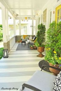 How To Paint A Wood Deck Or Front Porch (We Did Subtle ...