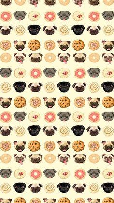 Pusheen Iphone Wallpaper Cute Donuts Fonditooo Fondos De Pantalla Pinterest Donuts