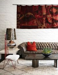 Leather chesterfield, Chesterfield sofa and Nail head on ...