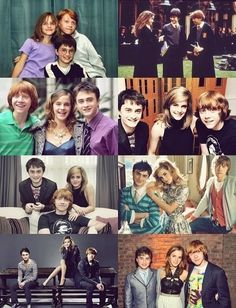 1000+ images about The Golden Trio on Pinterest | Hermione, Harry potter ron weasley and ...