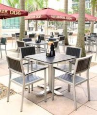 An image of a gorgeous outdoor restaurant dining space of ...