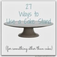Cake Stand Decor on Pinterest | Cake Stands, Table Covers ...