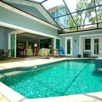 Semi covered pool!! Bebe'!!! Partial cover!!!   Pools And ...