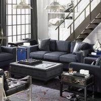 Men Apartment design on Pinterest | Manly Living Room ...