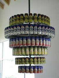 beer can collection - my husband wishes I wanted to do ...
