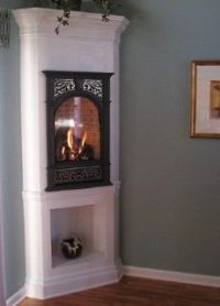 1000+ images about Corner gas fireplaces on Pinterest ...