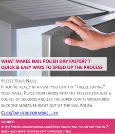 Dry Nails Quick On Pinterest Dry Nails Instantly Toe