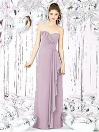 REAL pics of BRIDESMAID DRESS ALLURE STYLE:1221.DUSTY ROSE ...
