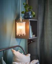 Ikea, Shelves and Bedside tables on Pinterest