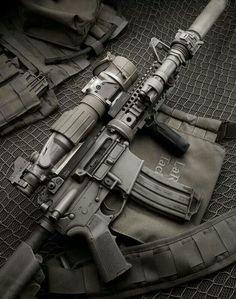 AR-15 assault rifleL
