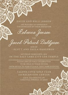 1000 images about lds wedding invitations on pinterest