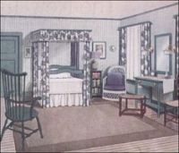 1910s bedroom on Pinterest | Ladies' Home Journal ...