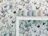 Ellies Bird Wallpaper Room
