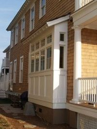 Bay window exterior on Pinterest