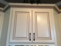 Cabinets on Pinterest   Light Rail, Maple Cabinets and Glaze