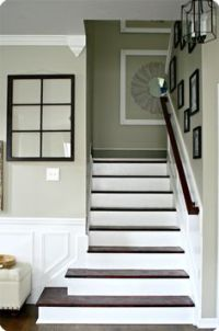 1000+ images about Painted Banister/Stairs on Pinterest