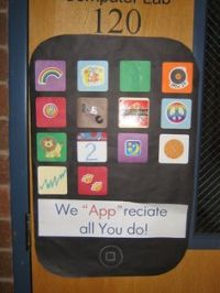 Crafty Sisters: Teacher Appreciation Door Decorations 2013 ...