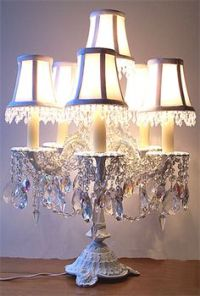 1000+ images about Vintage/ Shabby Chic Lamps on Pinterest ...
