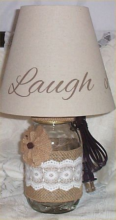 Ribbon Lamp Shades on Pinterest