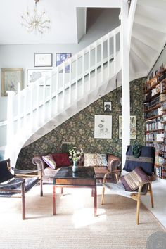 1000+ ideas about Wallpaper Stairs on Pinterest | Stair Risers, Stairs and Paint Stairs