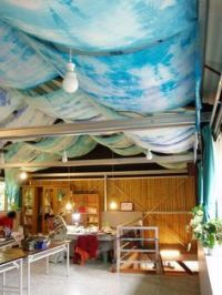 1000+ ideas about Fabric Ceiling on Pinterest | Unfinished ...