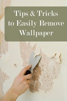 Using fabric softener and hot water is a good idea for wallpaper and border removal. Recommend ...