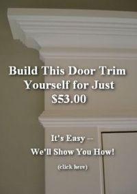 1000+ ideas about Door Molding on Pinterest | Front Door ...