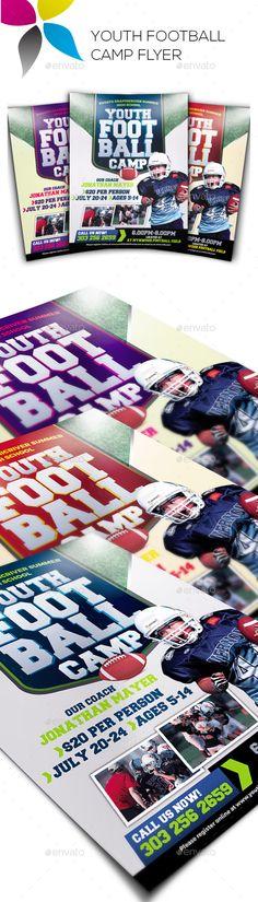 Sport Camp Flyer Pinterest Futebol, Pré-escola e Esportes - camp flyer template