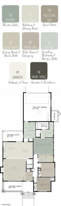 paint schemes for open floor plans - Google Search | Paint ...