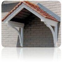 roof over front door entrance | Bungalow Restoration: Side ...