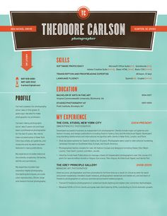 How To Make A Resume Visually Appealing | Free Cover Letter ...