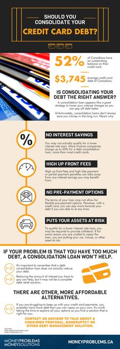 Don't Consolidate Your Credit Card Debt Until You Read This!