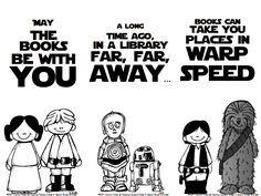 Star Wars bookmarks.