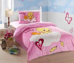 Tweety bedroom... I need this bed set.
