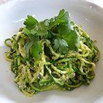 Zucchini Pasta with