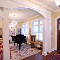 1000+ images about columns for living room on Pinterest