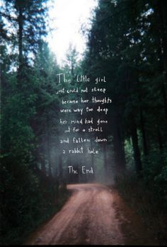 Falling Down The Rabbit Hole Wallpaper 1000 Deep Thought Quotes On Pinterest Thoughts Deep