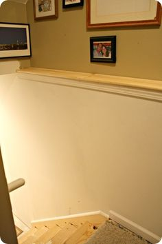 1000 Images About Ledge Along Basement Wall Ideas On