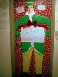 Christmas door decorating contest, Door decorating and