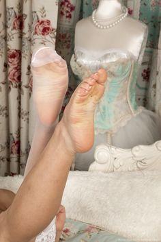 sheer stockings legs tease